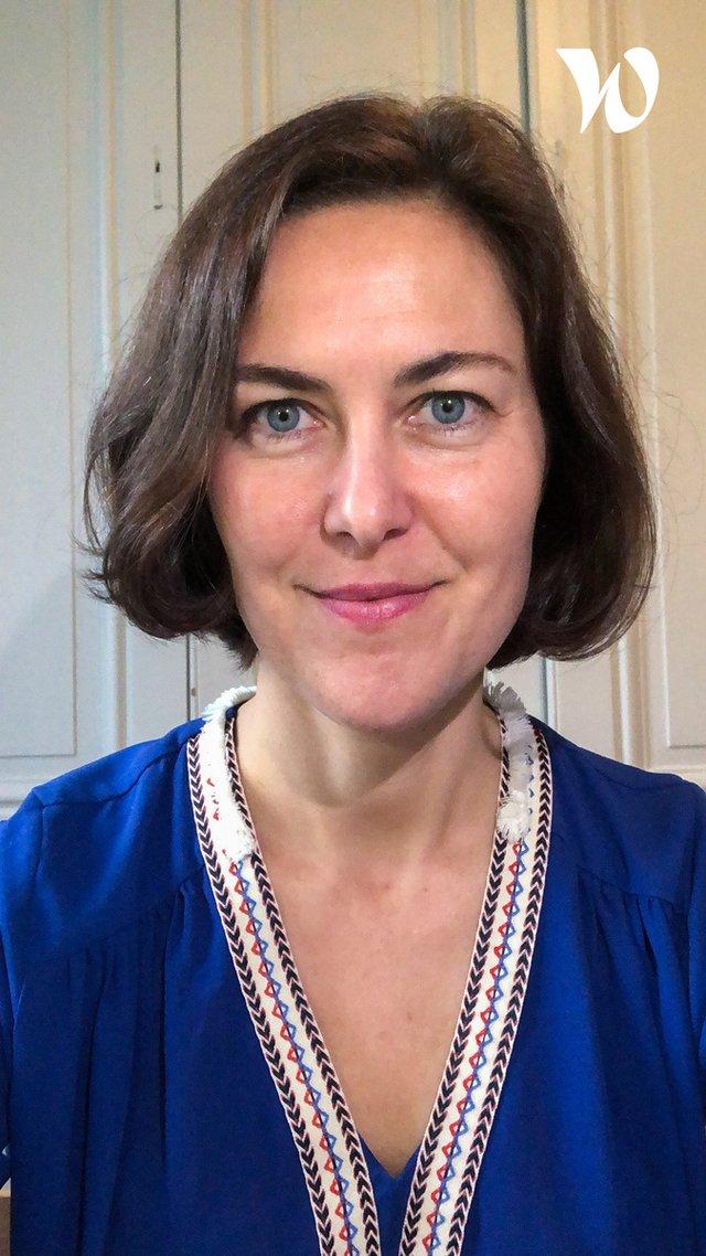 Rencontrez Géraldine, Co-fondatrice et experte d'innovation user centric et stratégies de marque responsable - Maobi