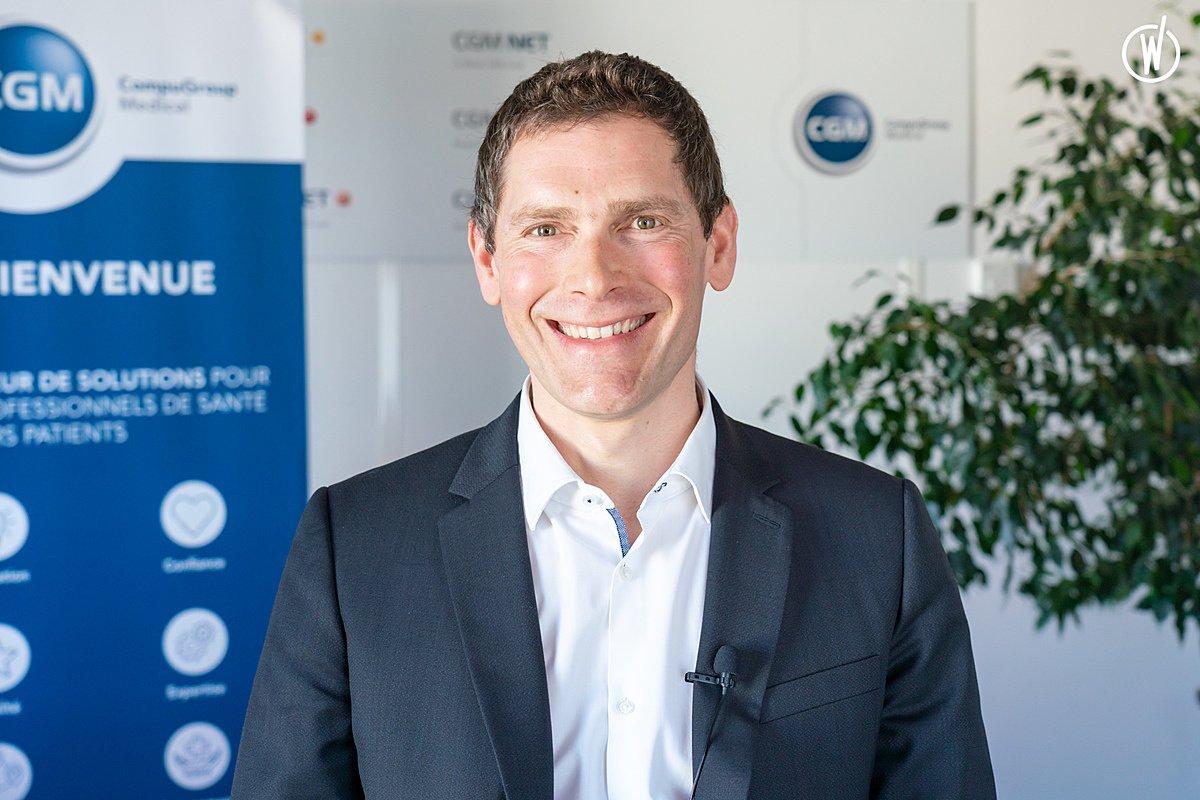Rencontrez Olivier, Directeur Développement - CompuGroup Medical France