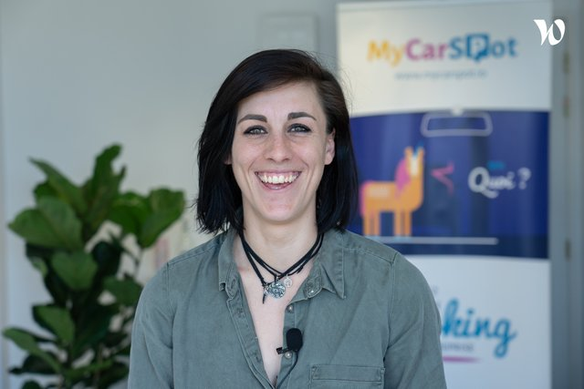 Rencontrez Camille, Customer Success Manager - Sharvy