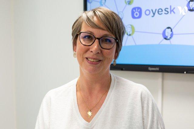 Rencontrez Lorène, HR Manager - Oyesk