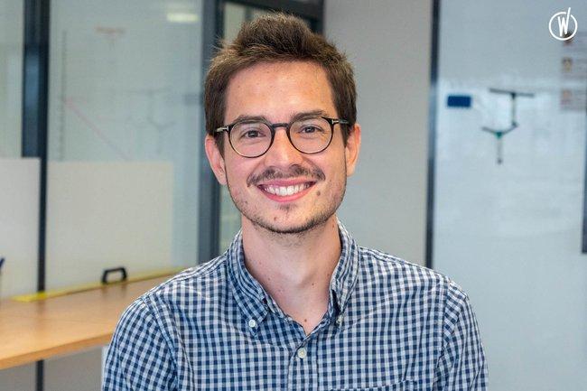 Rencontrez Benoit, Product Owner - Izberg