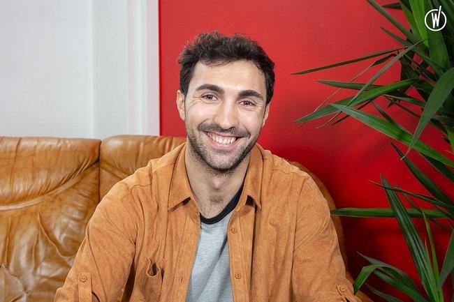 Rencontrez Robin, Co-founder & head of talents - Tchoozz
