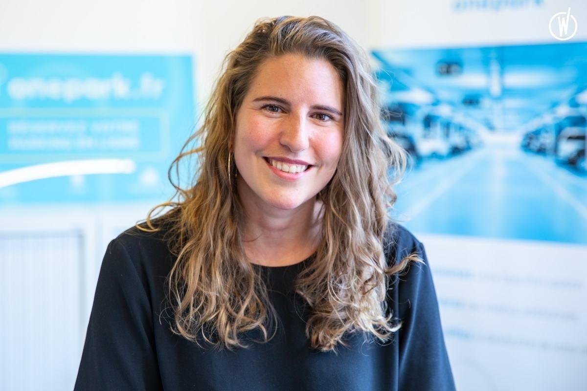 Rencontrez Louise, Head of Marketing - Onepark
