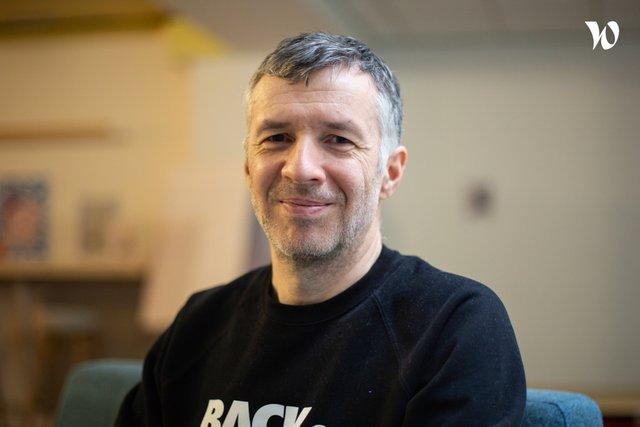 Rencontrez Thierry, Référent filière développement Web - L'École Multimédia