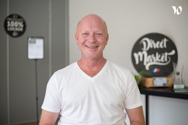 Rencontrez Sébastien, CEO, co-fondateur - Direct Market