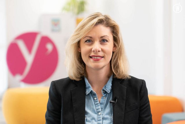 Rencontrez Alizée, Responsable Sourcing & Ingénierie de Recrutement - Département des Yvelines