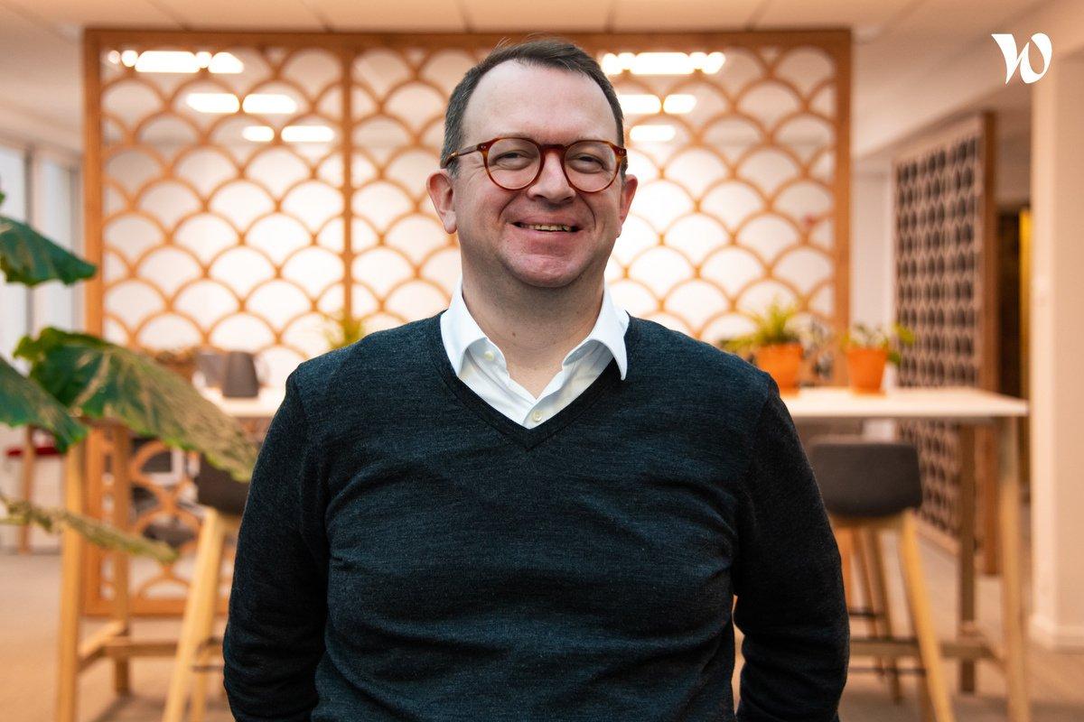 Rencontrez Damien Tampé, Chief Technology Officer - QIMA