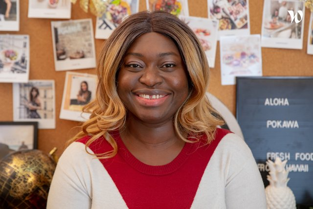 Rencontrez Aminata, Manager de Restaurant - Pokawa