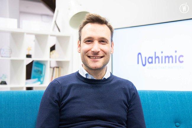 Rencontrez Vincenzo, Product Manager - Nahimic