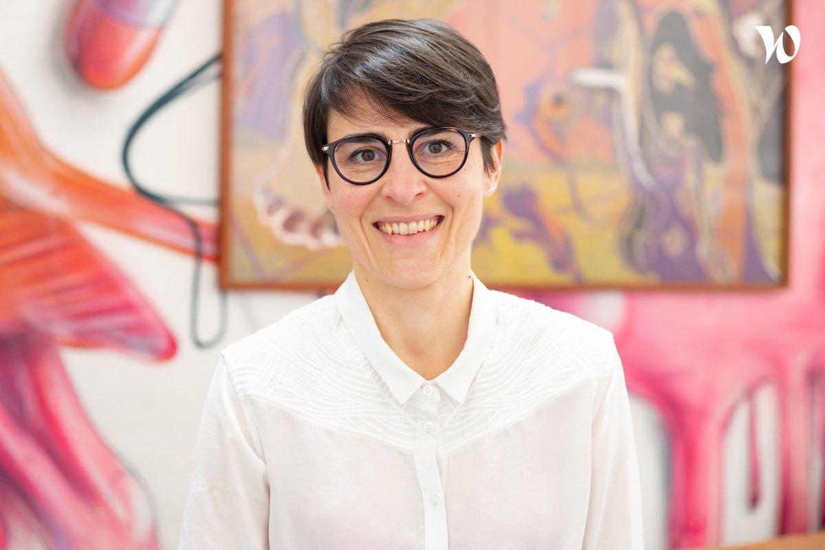 Rencontrez Camille, Responsable de l'équipe réseaux - Ecov