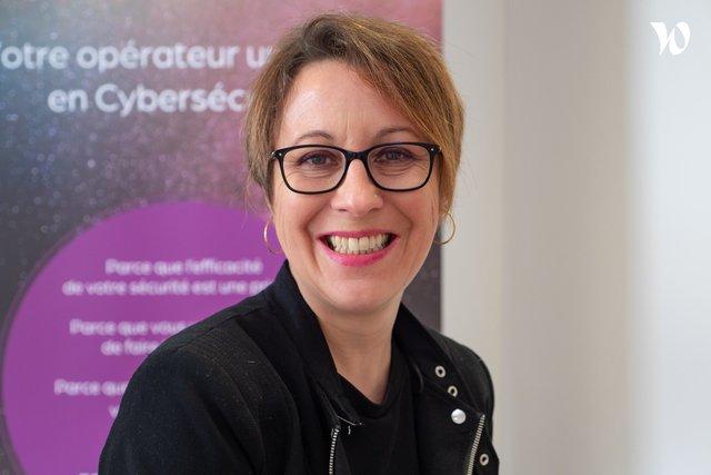 Rencontrez Stéphanie, Business Developer - Cyberprotect