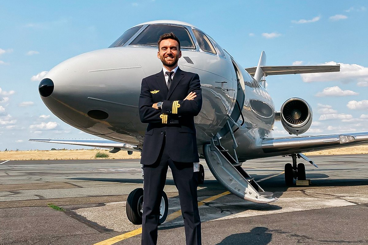 Reconversion en pilote d'avion après une carrière en marketing