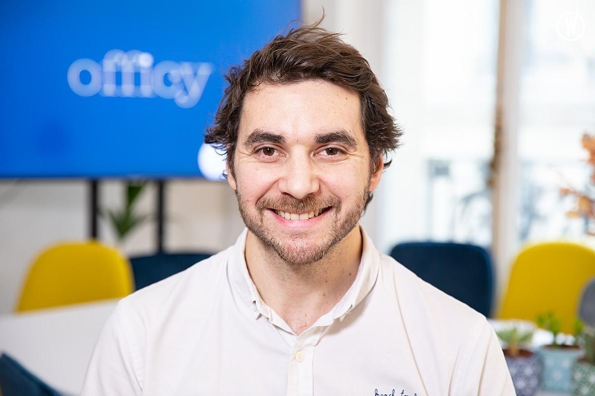 Rencontrez Laurent, Co-fondateur - Officy