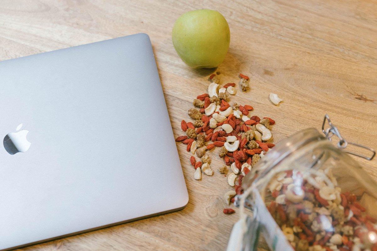 5 conseils food pour être plus productif au bureau
