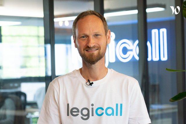 Rencontrez Julien, CEO - Légicall