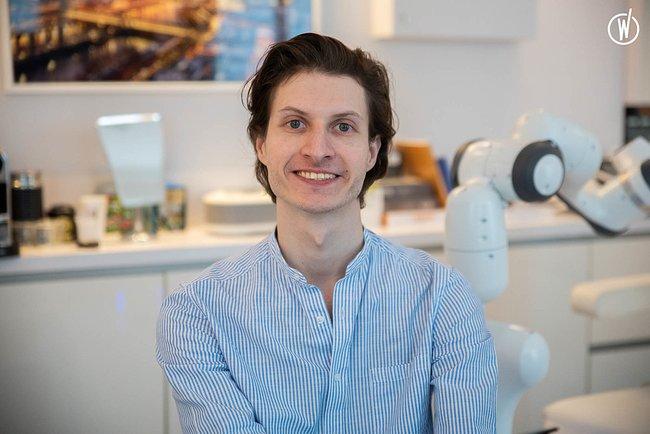 Rencontrez Matthieu, Business developpeur - Responsable marketing - Nextmotion