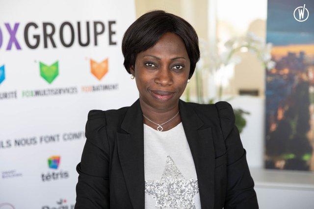 Rencontrez Mbasse, Fondatrice - Fox Propreté Multiservices