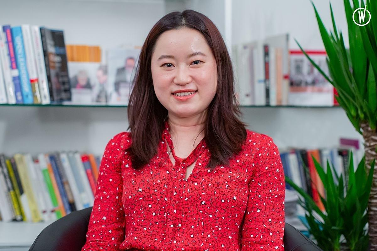 Rencontrez Jiaying, Analyste senior - Day One