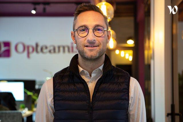 Rencontrez Jérôme, Directeur commercial - Opteamis