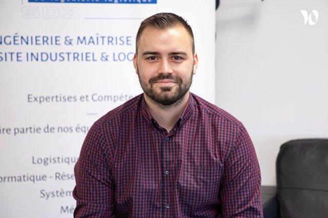 Rencontrez Maxime, Chef de projet junior - SDZ ProcessRéa