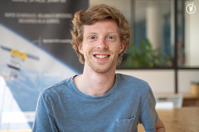 Rencontrez Etienne, Développeur - Loft Orbital