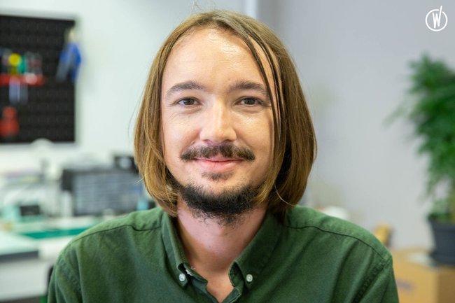 Meet Blaise, Engineer R&D mechatronics - Ganymed Robotics