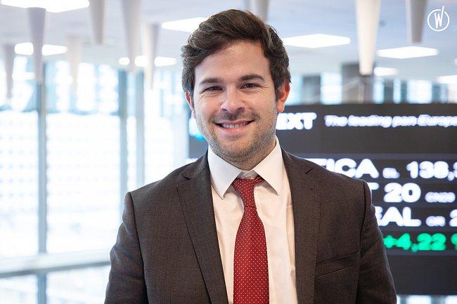 Rencontrez Timothy, Sales Associate - Euronext