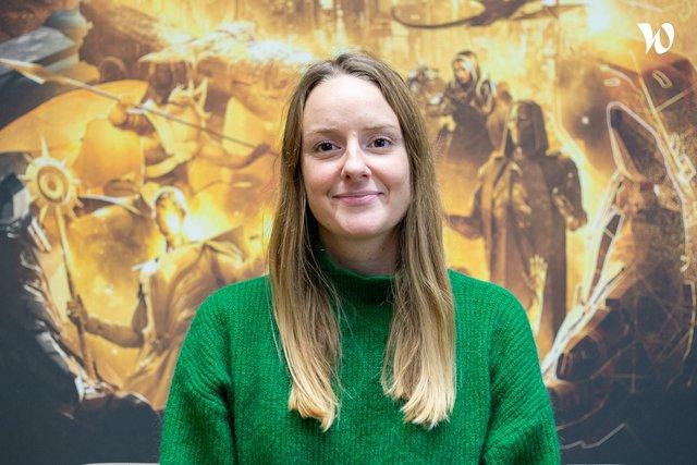 Rencontrez Marina, HR Manager - Amplitude Studios