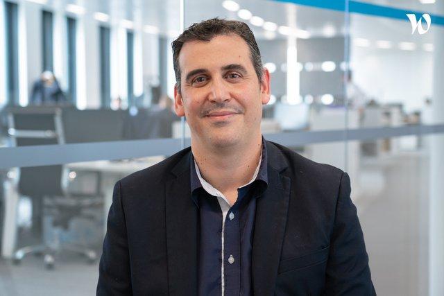 Rencontrez Fabien, Responsable commercial - Grands comptes - Voip Telecom