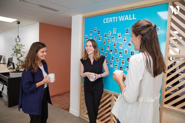 Tous les collaborateurs ont droit à leur photo polaroïd à l'entrée du bureau. - CertiNergy & Solutions
