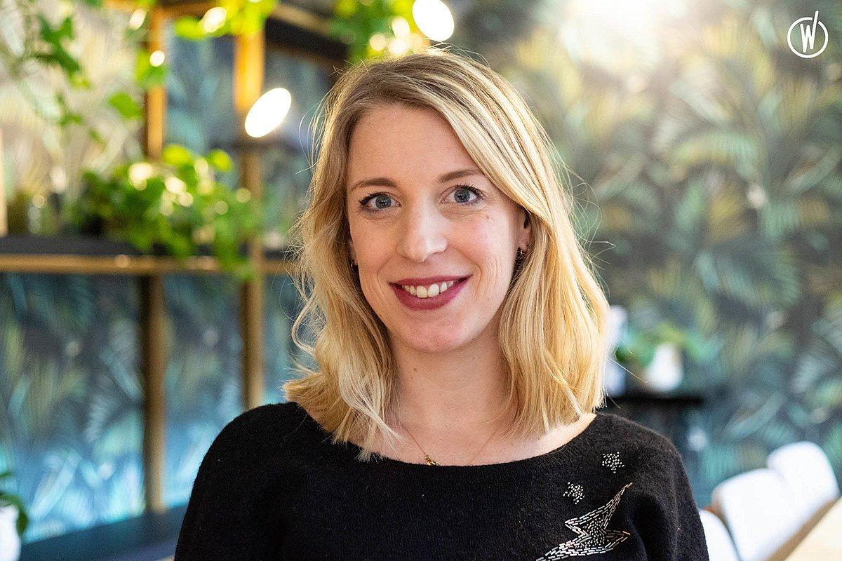 Rencontrez Camille, Event Manager - Wellio