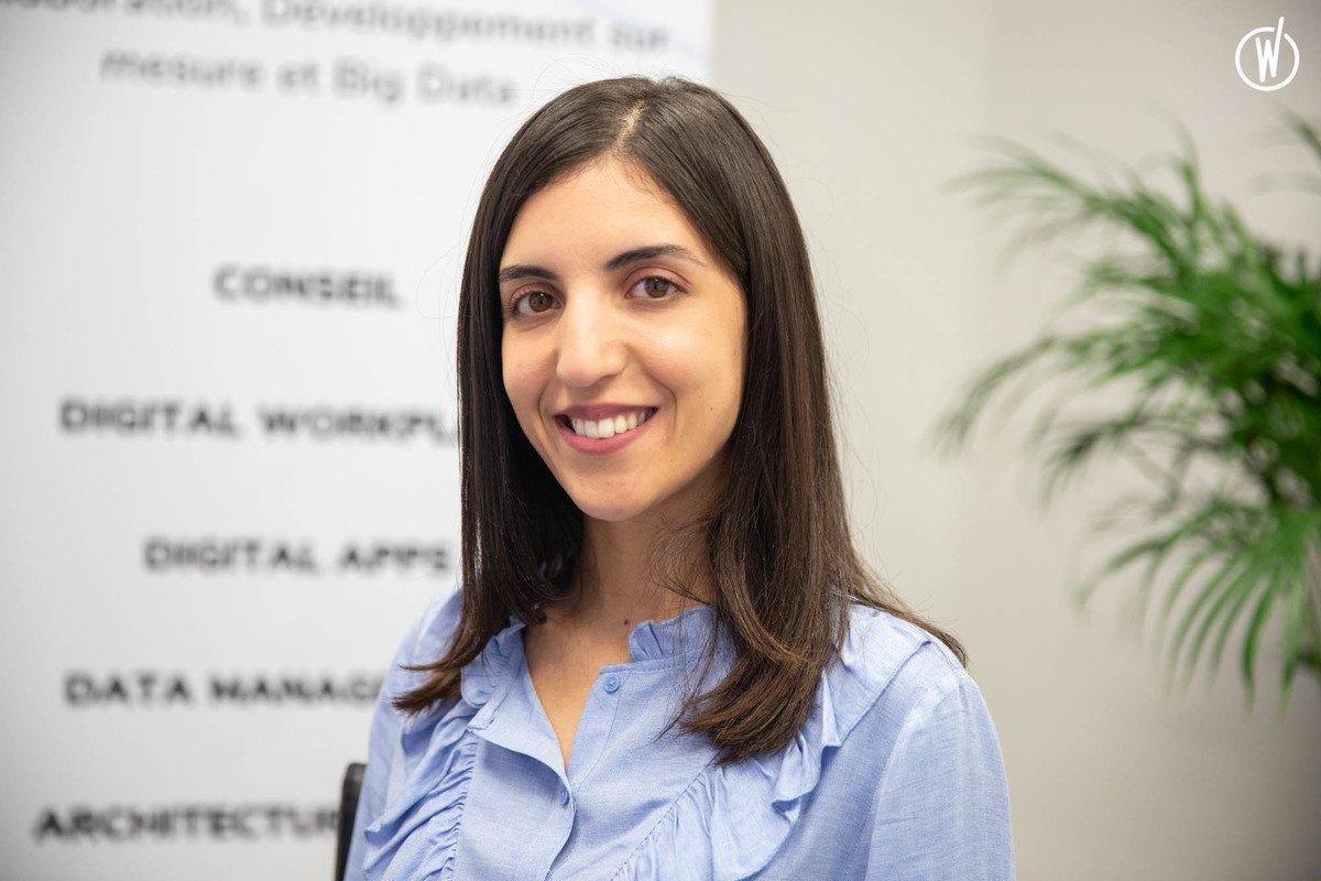 Rencontrez Khaoula, Développeuse Full stack - Innovela