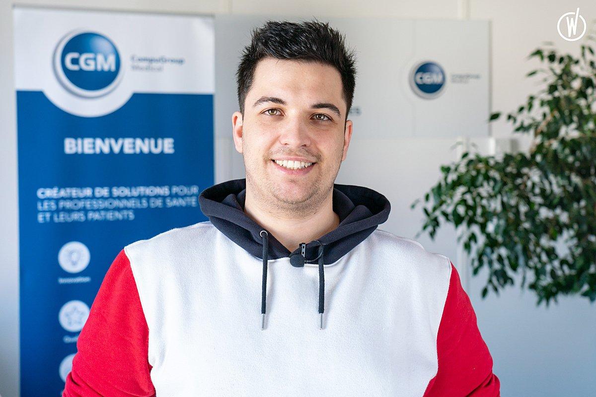 Rencontrez Lilian, Développeur - CompuGroup Medical France