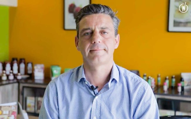 Rencontrez Cédric, Président Directeur général - LA PATELIERE