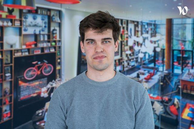 Rencontrez Thomas, Front-end developer - Hello Customer