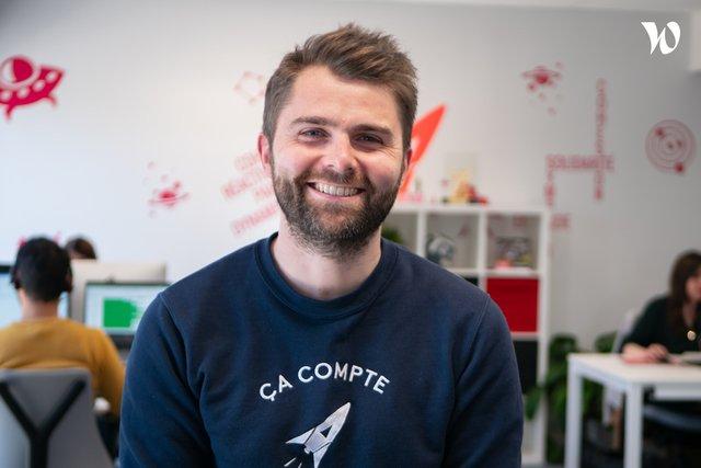 Rencontrez Mathieu, Expert-Comptable Associé, Directeur Général - Ça Compte Pour Moi