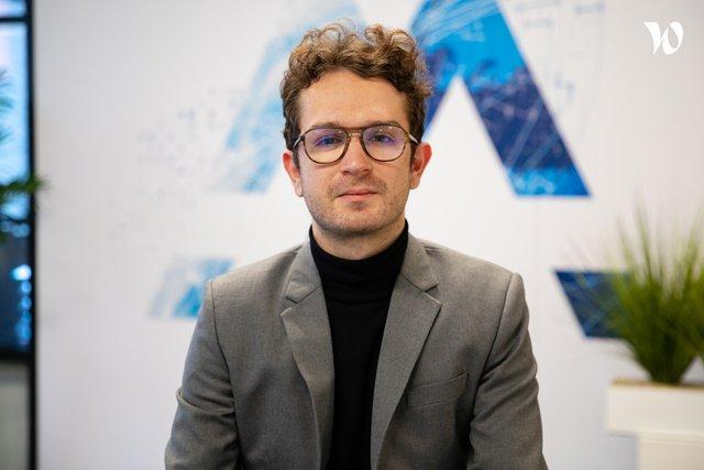 Rencontrez Mathieu, Chef de projet communication digitale - Aymax