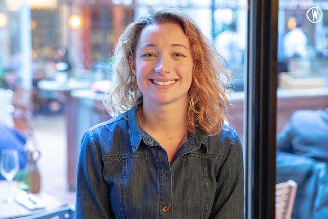 Rencontrez Sarah, Assistante direction des opérations  - Experimental Group