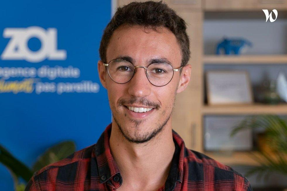 Rencontrez Gaspard, Directeur conseil - ZOL