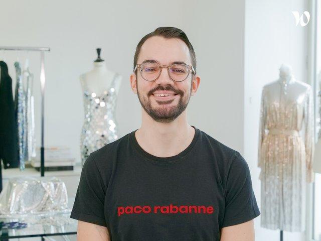 Rencontrez Quentin, Modéliste Assemblage - Paco Rabanne