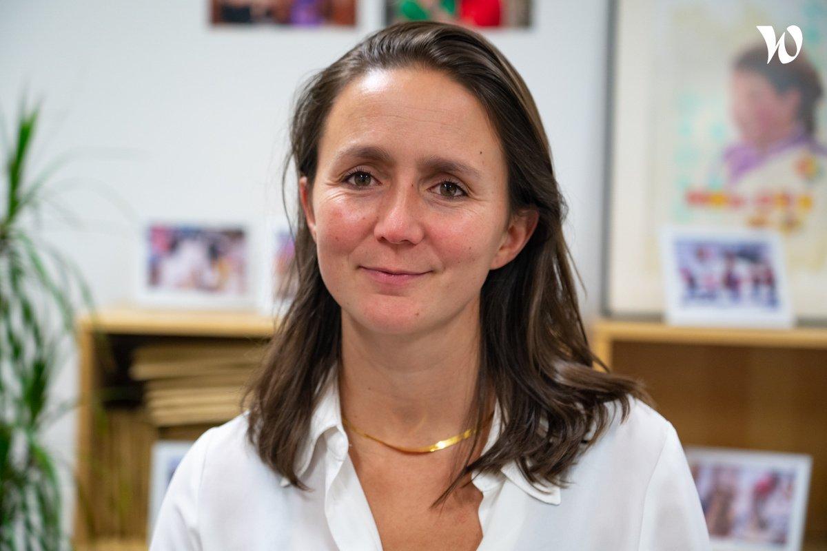 Rencontrez Camille, Directrice Générale - Vision Du Monde