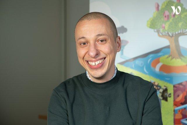 Rencontrez Nordine, Directeur créatif - DOWiNO
