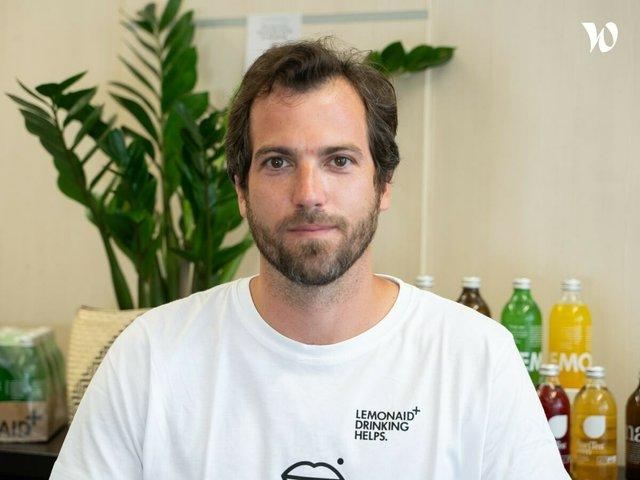 Rencontrez Arthur, Directeur International - Lemonaid & Charitea