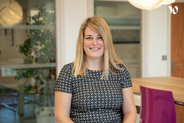 Rencontrez Céline REALINI, Directrice d'Agence - Banque Populaire Alsace Lorraine Champagne
