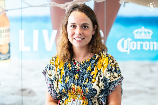 Meet Flore, Catergory Manager GMS - AB InBev Europe