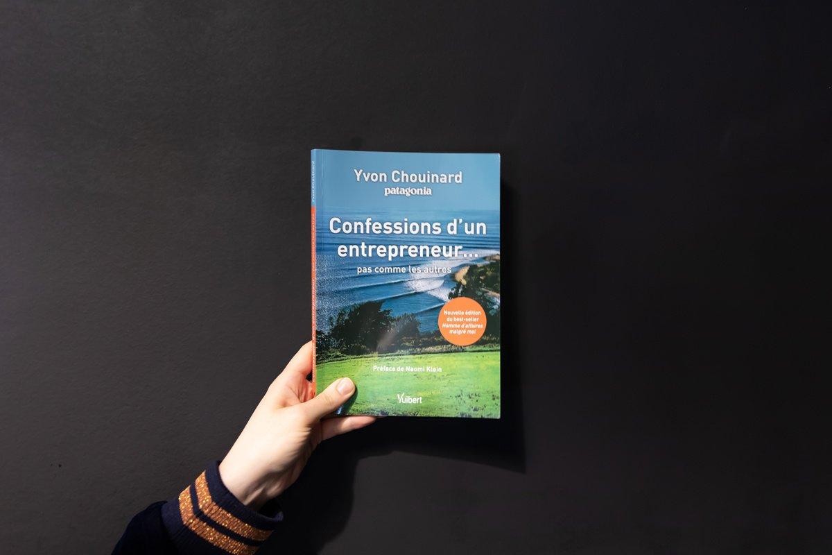 Entrepreneur malgré lui : l'autobiographie d'Yvon Chouinard.
