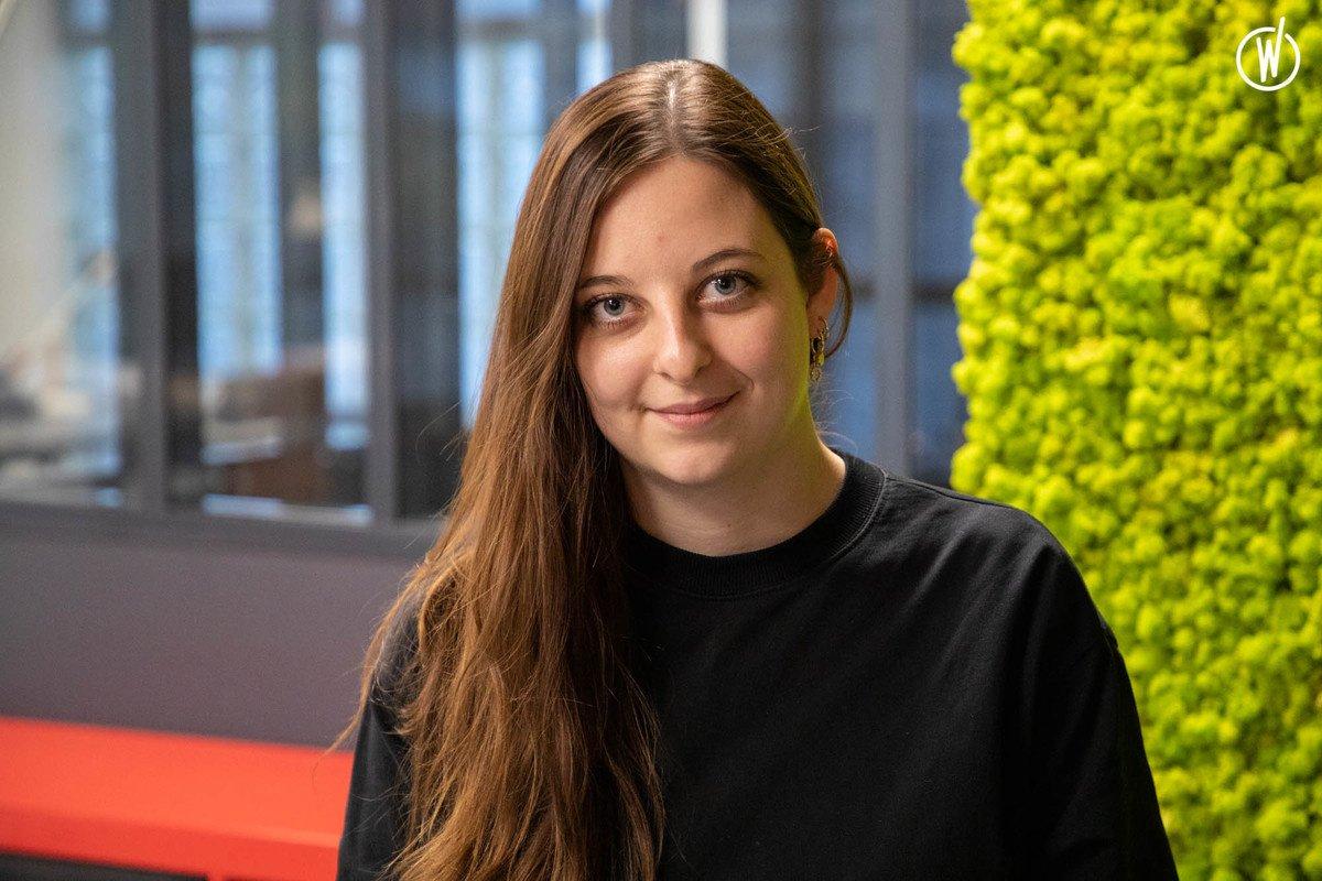 Rencontrez Aurelia, Directrice de l'UX design - Castor & Pollux