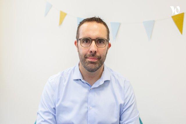 Rencontrez Sébastien, Chargé de développement - Immodvisor