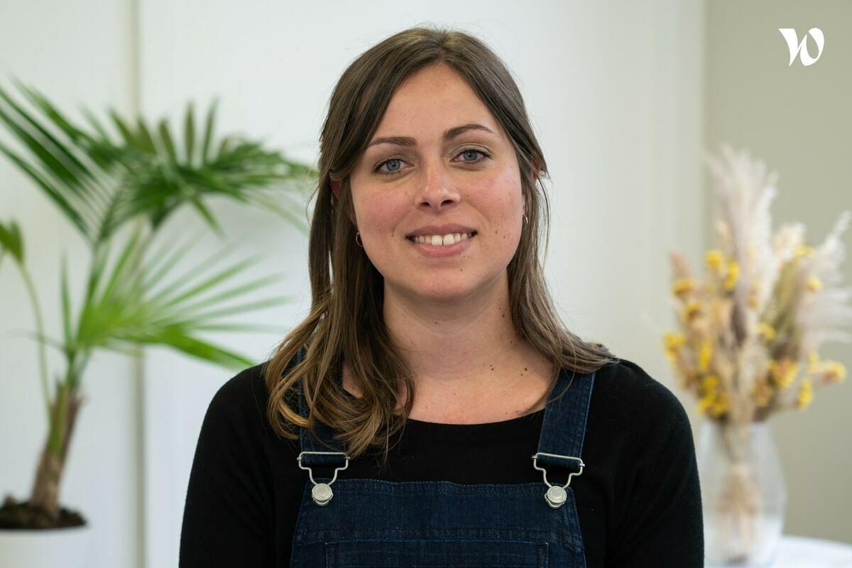 Rencontrez Charlotte, Team lead business developement Découvrez Lucile Wood - LUCILE WOODWARD SAS