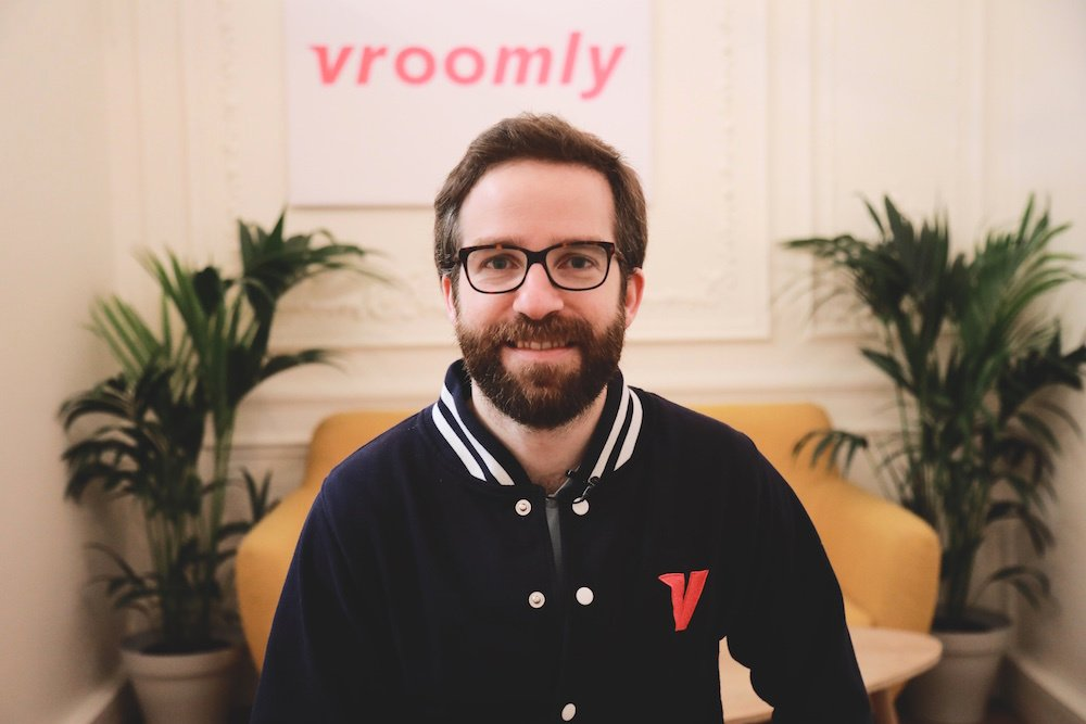 Rencontrez Jean Philippe, Co fondateur & Product Owner - Vroomly
